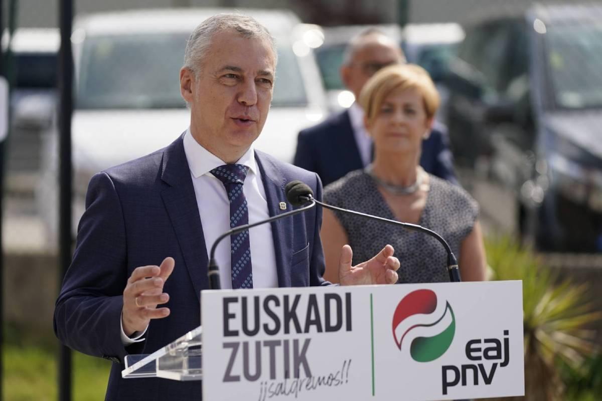 Íñigo Urkullu, candidato a lehendakari por el PNV.