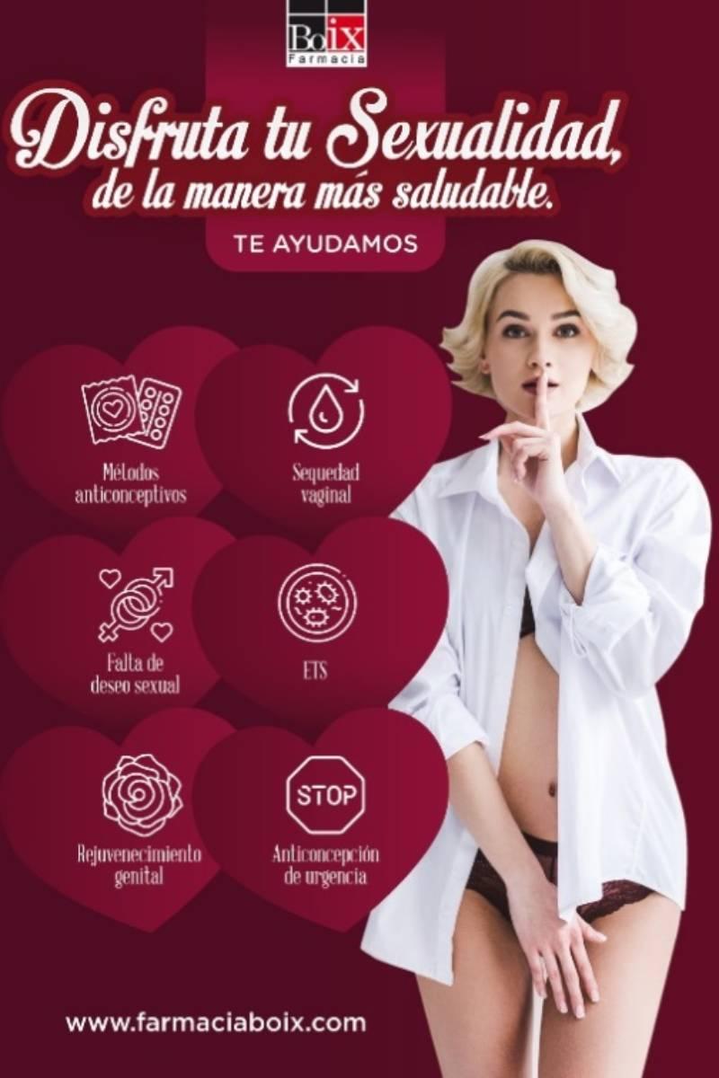 Campaña sobre Salud sexual en Farmacia Boix (Valencia).
