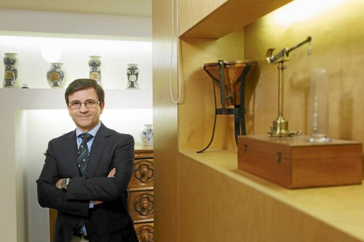 Miguel López Abechuco, presidente del COF de Burgos.