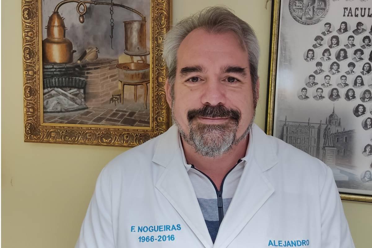 Alejandro García Nogueiras, nuevo presidente del COF de Valladolid.