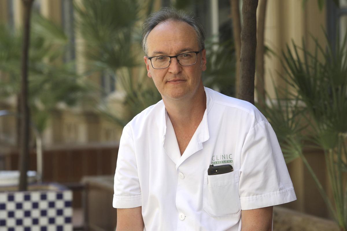 Alex Soriano es el jefe del Servicio de Enfermedades Infecciosas del Hospital Clínic de Barcelona.