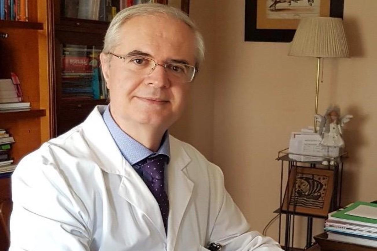José Baeza, presidente de la Sociedad Española de Ozonoterapia.