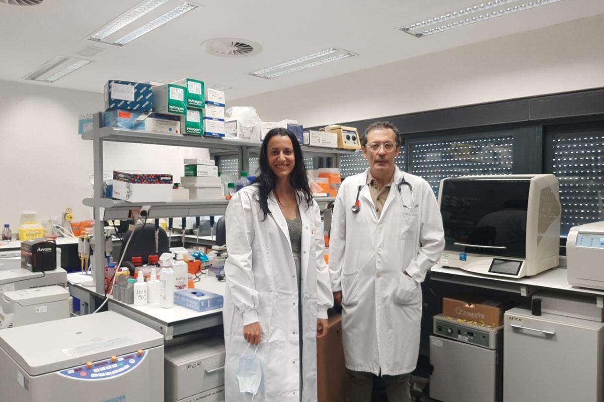 Irene Ferrer y Luis Paz-Ares, del Servicio de Oncología y del i+12, del Hospital 12 de Octubre, de Madrid.