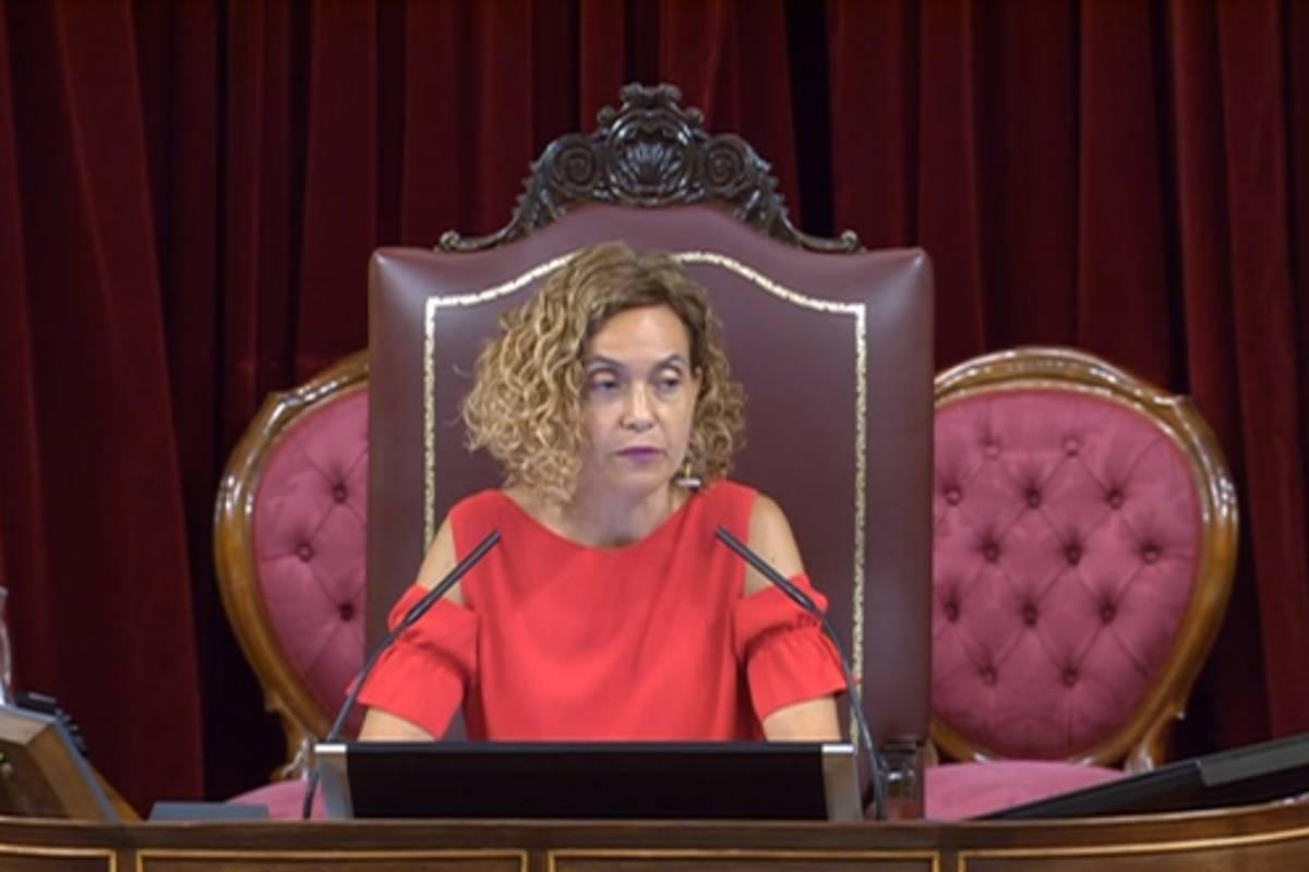 Meritxell Batet Lamaña, presidenta del Congreso de los Diputados.