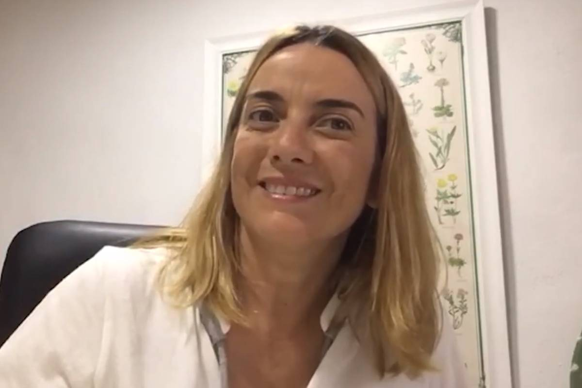 Consuelo Serrano, farmacéutica comunitaria en Valencia,