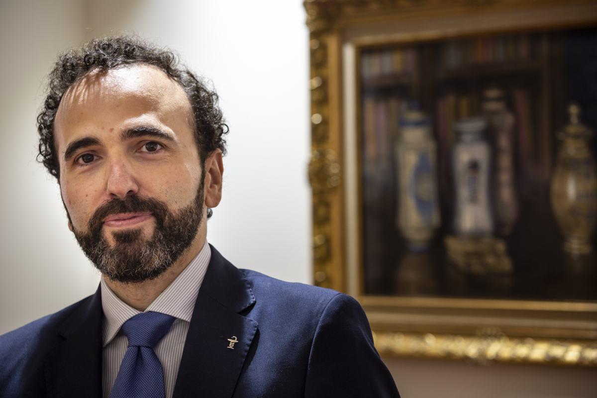 Jordi Casas, presidente del COF de Barcelona. (Imágenes: Jaume Cosialls)