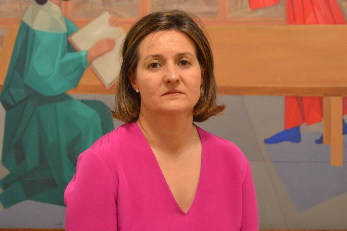 Marta Ruano, presidenta del Colegio Oficial de Farmacéuticos de Segovia.