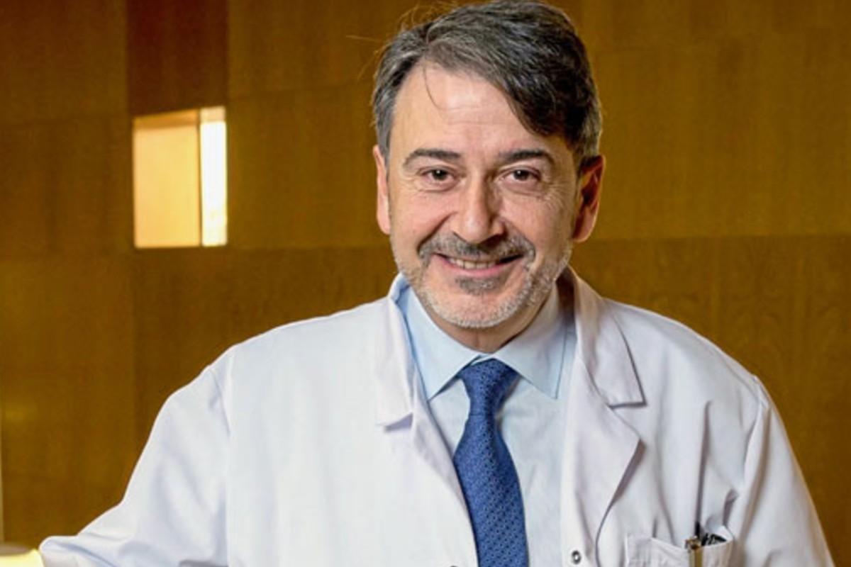 Modoaldo Garrido, gerente del Hospital Universitario Fundación Alcorcón