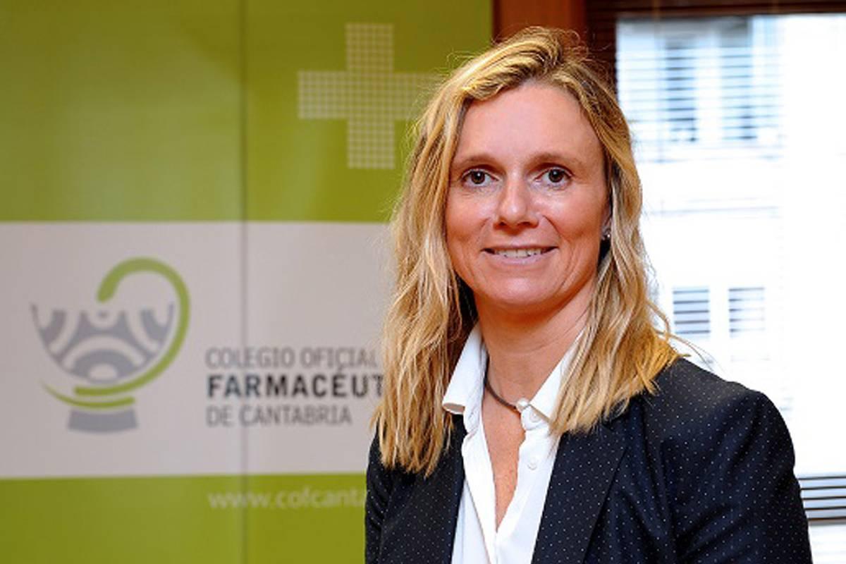 Rita de la Plaza, presidenta del COF de Cantabria,