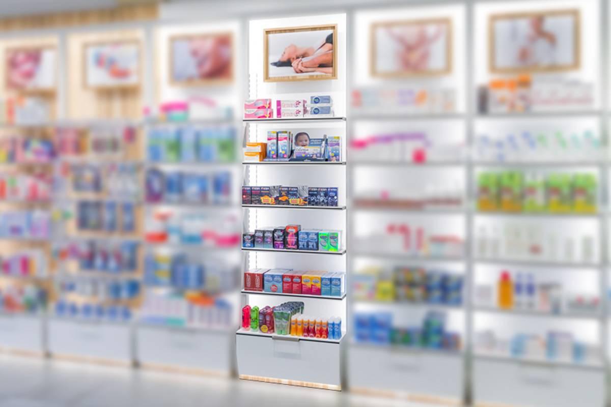 El preservativo es un art�culo que parece que se le está escapando de las manos a la farmacia y que, sin embargo, está creciendo en grandes superficies.