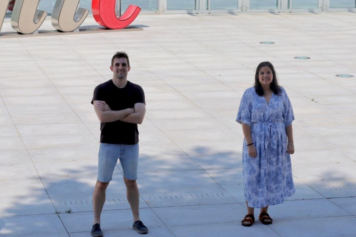 Pablo Hernansanz-Agustín y Carmen Choya Foces, parte del equipo que ha realizado la investigación.