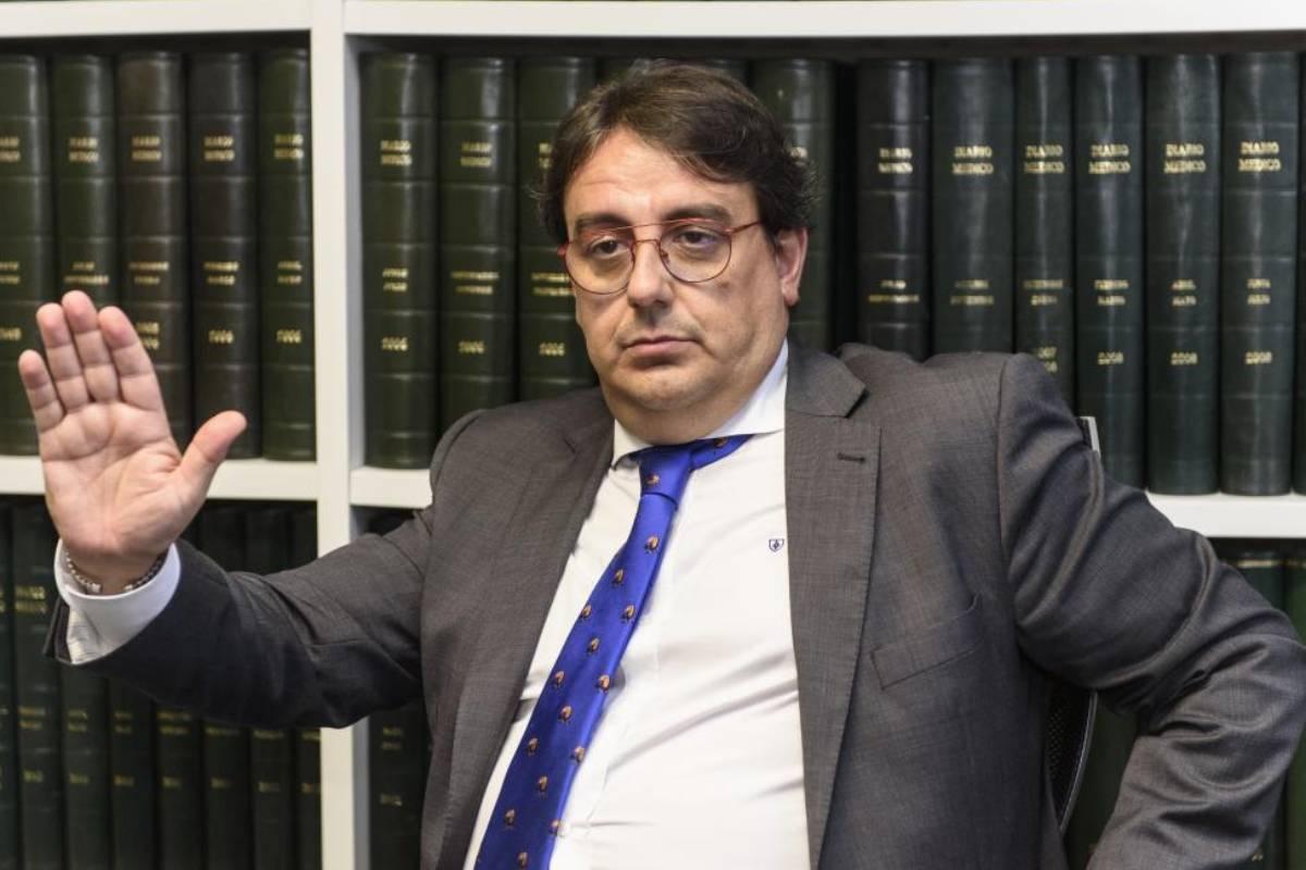José MaríaVergeles, vicepresidente segundo y consejero de Sanidad y Servicios Sociales de la Junta de Extremadura.