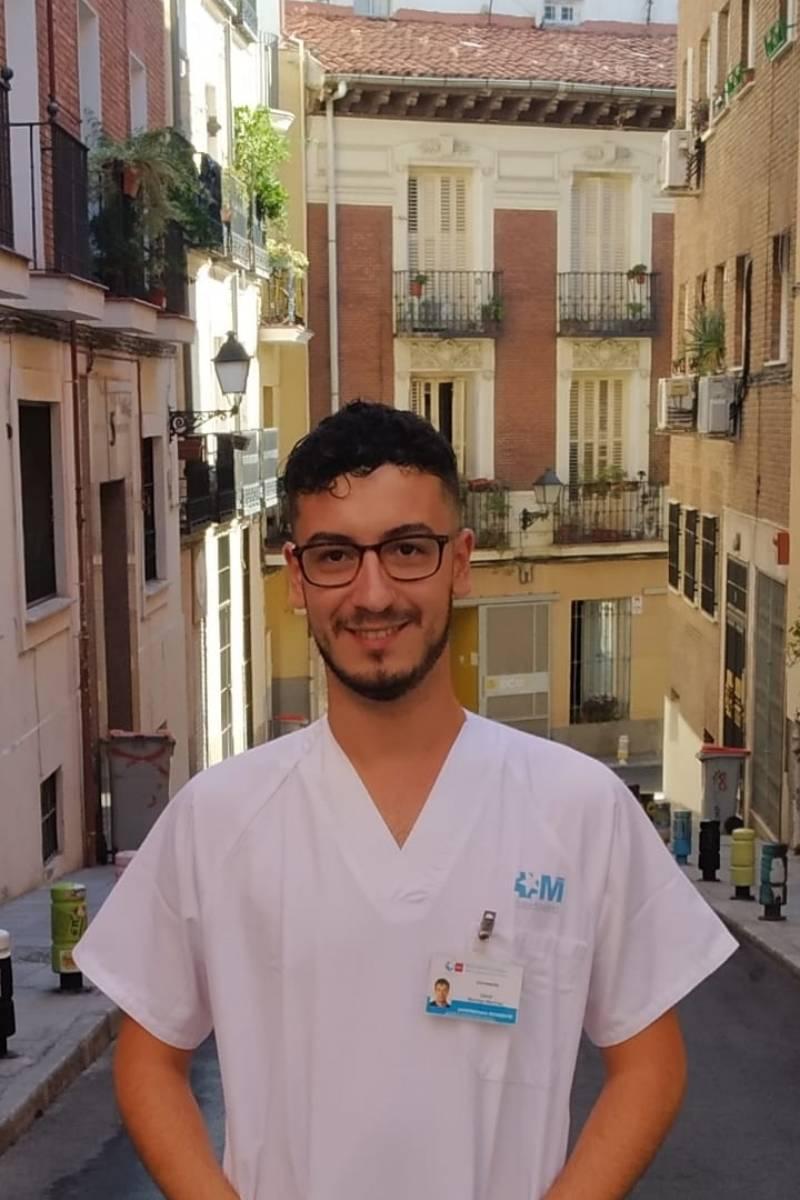 David Bermejo Mart�nez, presidente de la Asociación Madrileña de Enfermeros y Residentes de Enfermer�a Familiar y Comunitaria (Amerefyc).