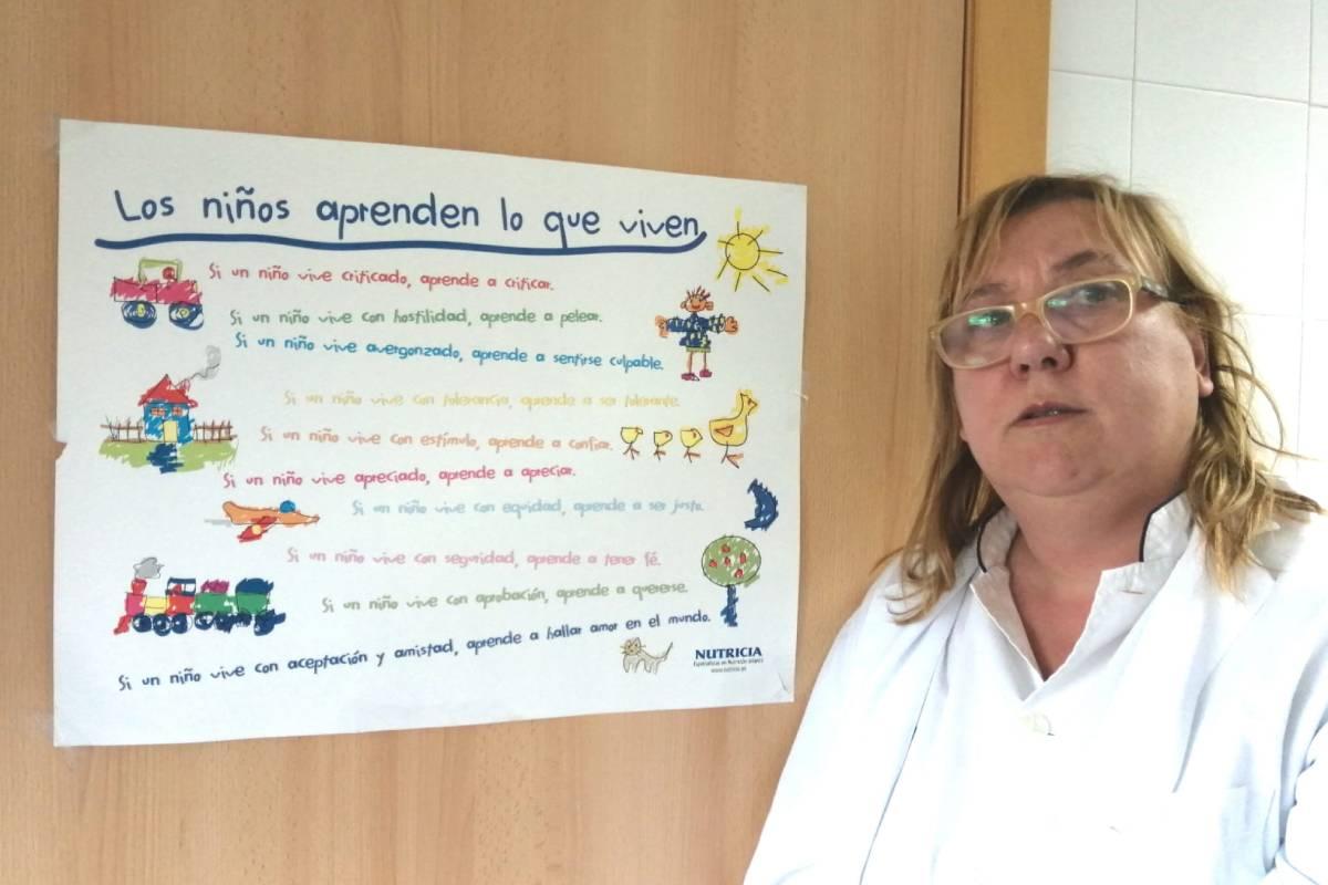 Engràcia Soler Pardo, presidenta de la Asociación Cient�fica Española de Enfermer�a y Salud Escolar (Aceese).