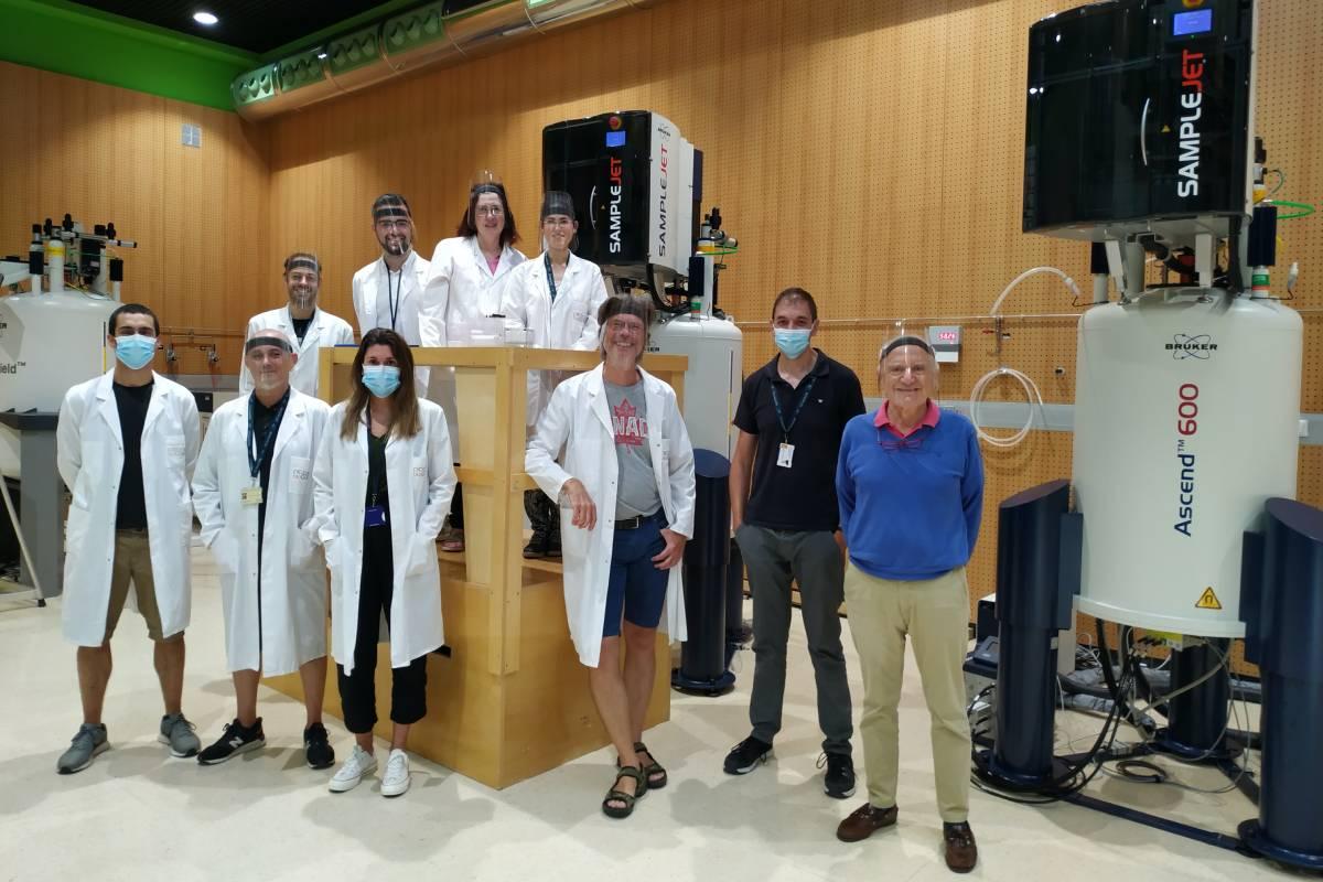 El equipo del Centro de Investigación bioGUNE.
