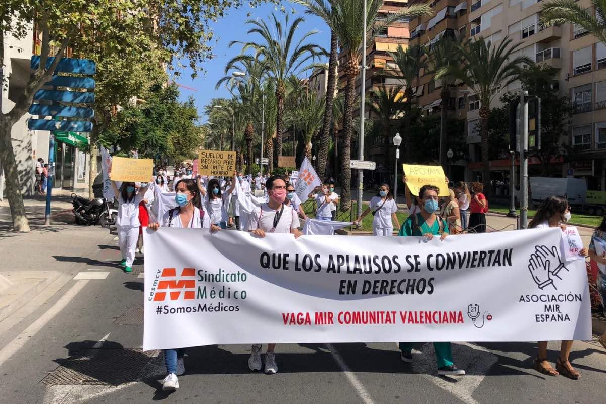 2.640 residentes de la Comunidad Valenciana se encuentran en una protesta indefinida desde el pasado 21 de julio.