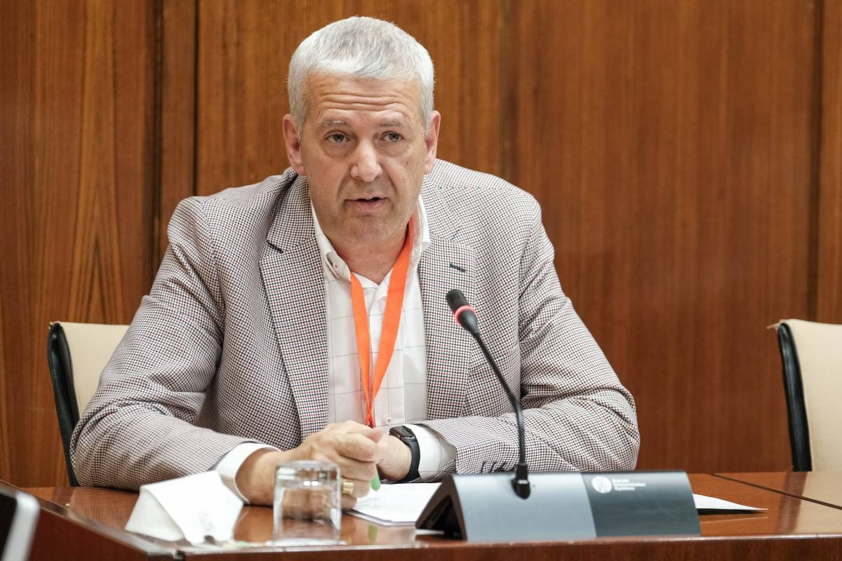 José Sánchez Gámez, secretario general de Satse en Andalucía.