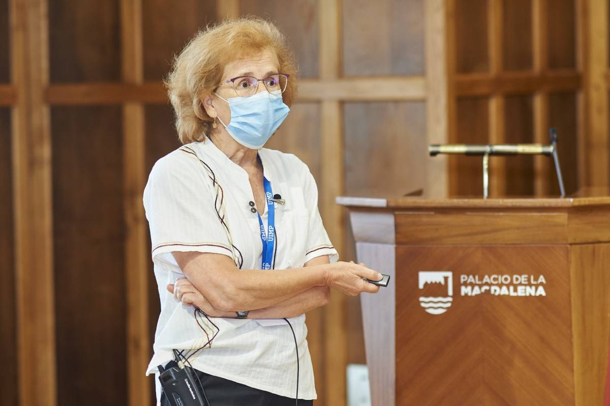 Margarita del Val Latorre, viróloga e investigadora del CSIC.