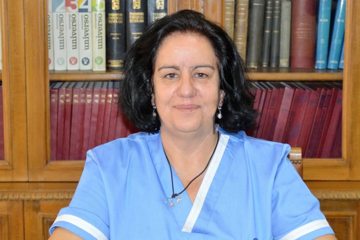 Natividad López Langa, presidenta de la Asociación Nacional e Internacional de Enfermer�a Escolar (Amece).