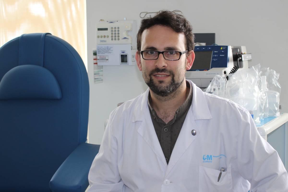 Alberto Borobia, coordinador de la Unidad Central de Investigación Clínica y Ensayos Clínicos de La Paz.