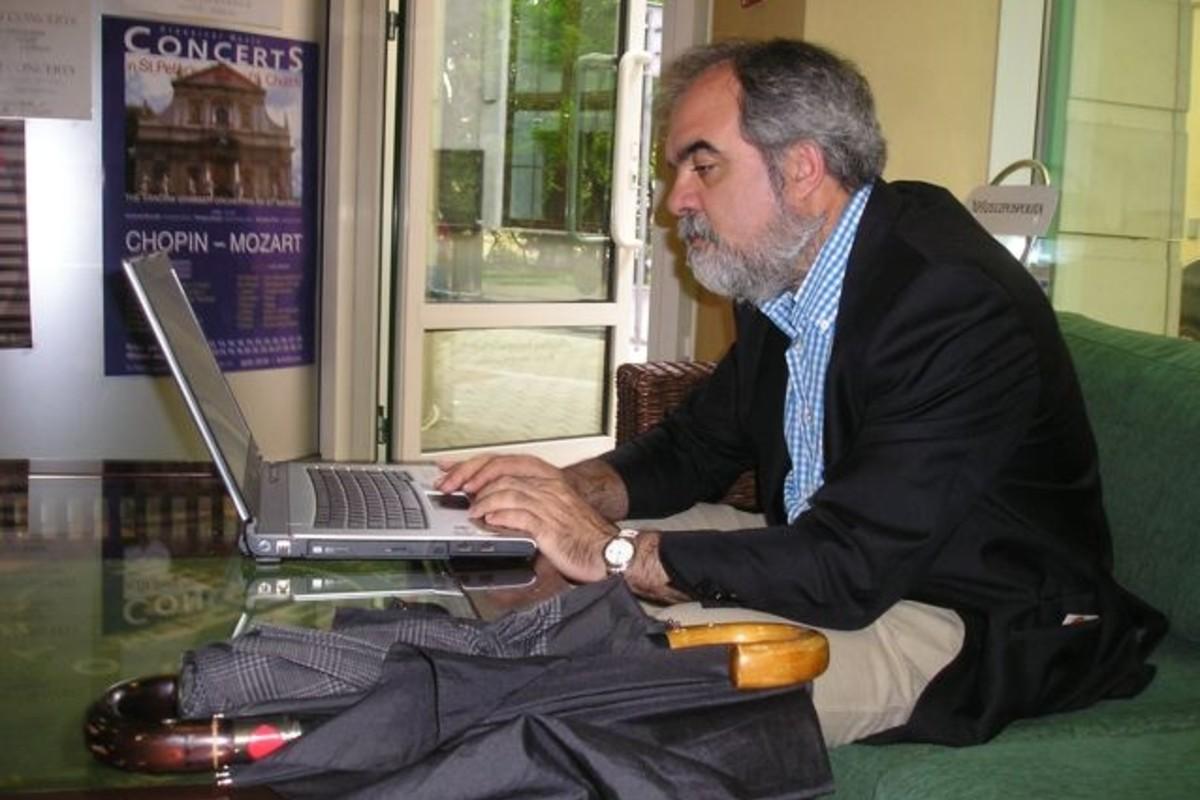 Alberto Fernández Ajuria, profesor de la Escuela Andaluza de Salud Pública