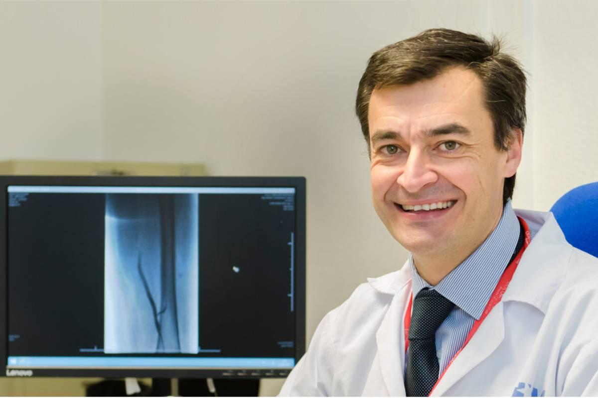 Andrés Muñoz, del Servicio de Oncología del Hospital Gregorio Marañón, de Madrid.