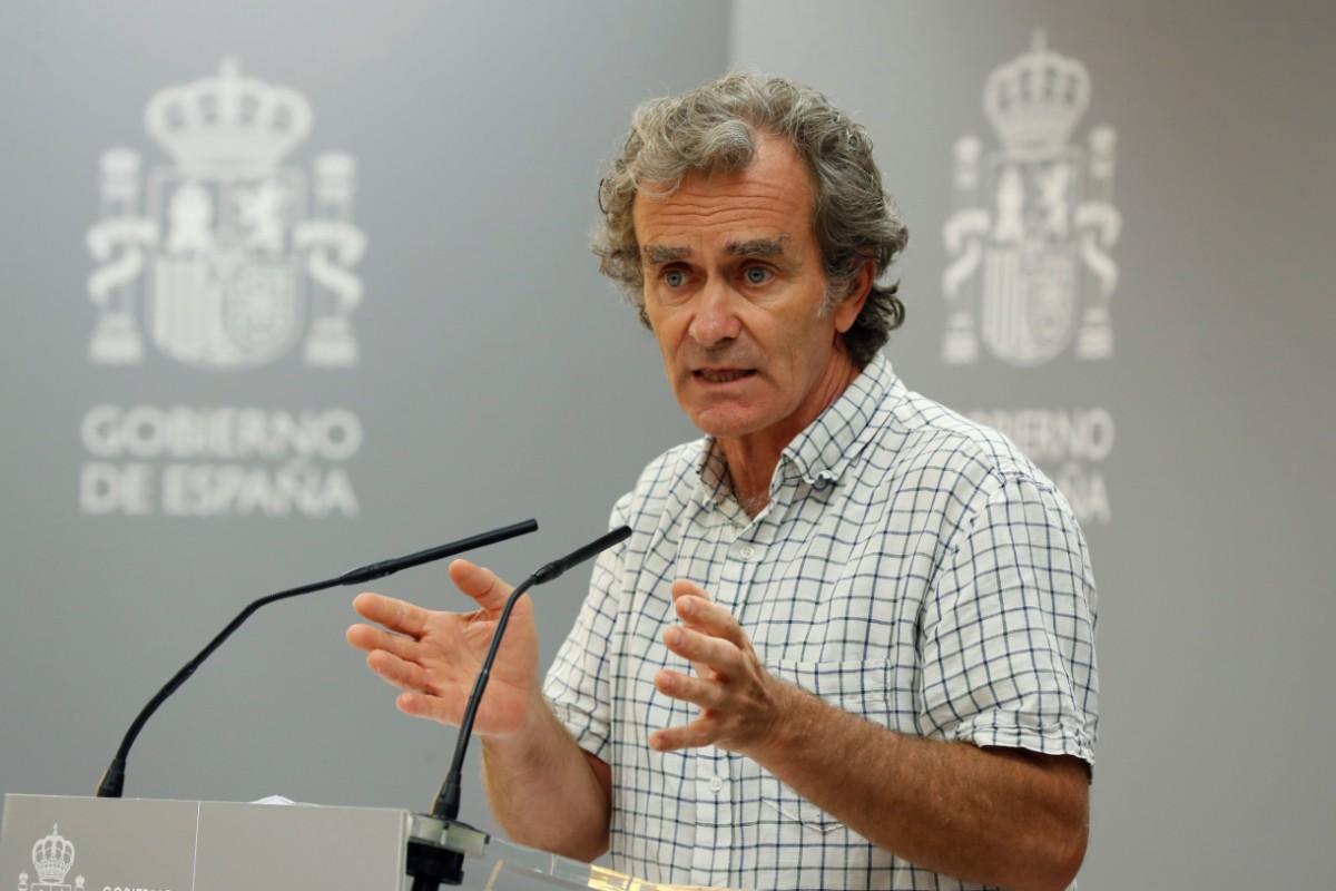 Fernando Simón, director del Centro de Coordinación de Alertas y Emergencias Sanitarias (EFE/ J.J. Guillén)