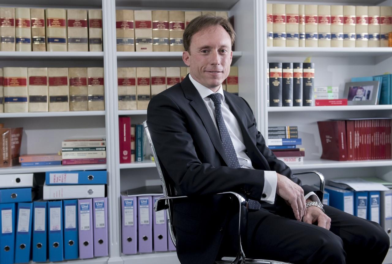 El abogado Carlos Sardinero.
