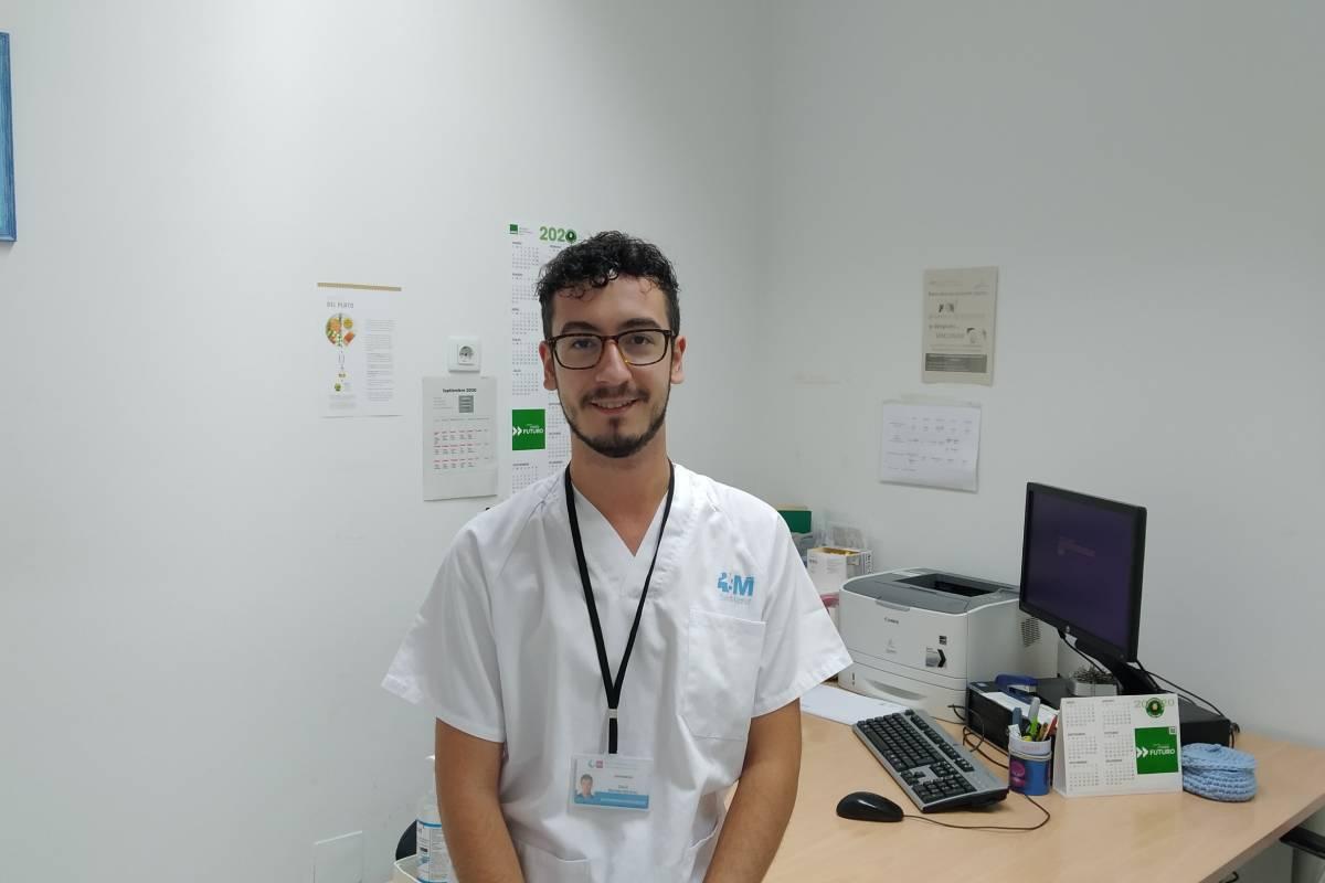 David Bermejo Martínez, presidente de Asociación Madrileña de Enfermeros y Residentes de Enfermería Familiar y Comunitaria (Amerefyc) y R2 de Enfermería Familiar y Comunitaria del Hospital General Universitario Gregorio Marañón.