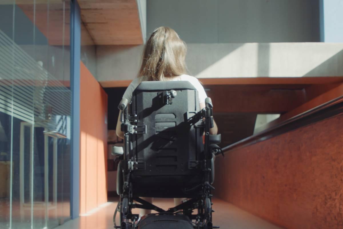 Foto de la campaña por el Día Mundial de la parálisis cerebral. (Foto: Ilunion)