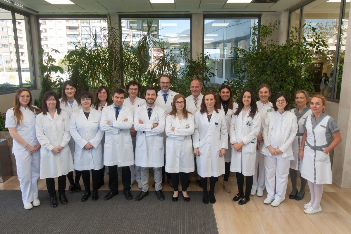 Equipo investigador del Departamento de Oftalmología y del Laboratorio Experimental de Oftalmología de la Clínica Universidad de Navarra.