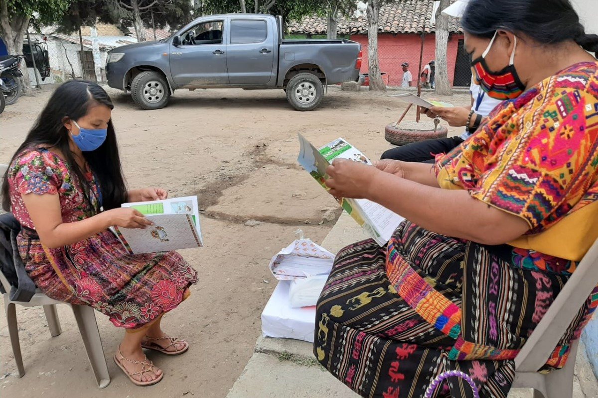 Proyecto de Farmamundi en Guatemala.