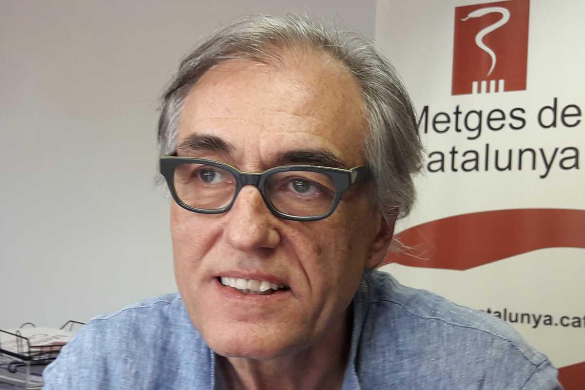 Josep Maria Puig, secretario general de Médicos de Cataluña.