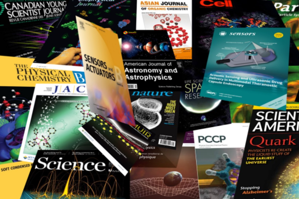 Portadas de revistas científicas