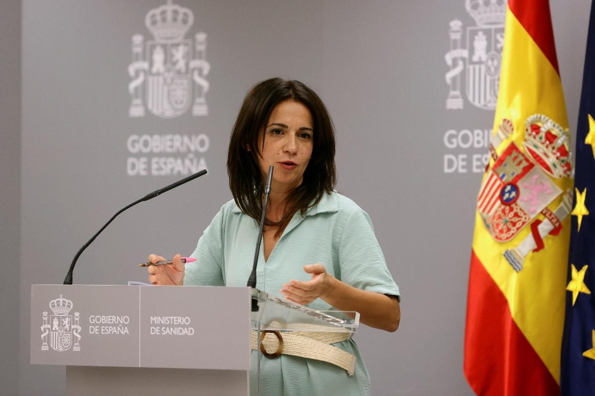 Silvia Calzón, Secretaria de Estado de Sanidad, ha comparecido hoy en sustitución de Fernando Simón.