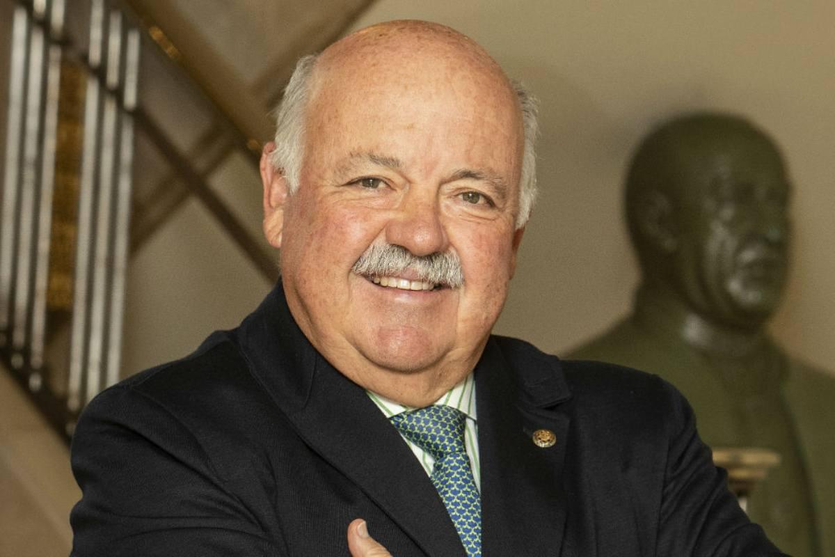 Jesús Aguirre, consejero de Salud de Andaluc�a.