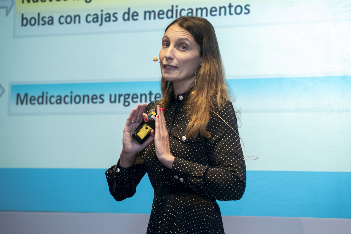 Ana Deza, farmacéutica comunitaria en Ampudia, Palencia