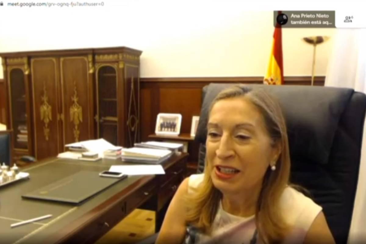 Ana Pastor Julián, diputada del Grupo Parlamentario Popular y vicepresidenta segunda del Congreso y vocal de la Comisión de Sanidad y Consumo.