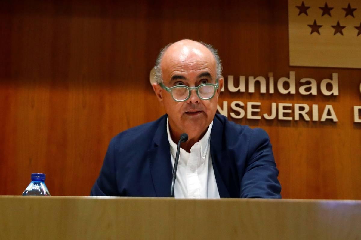 Antonio Zapatero, viceconsejero de Sanidad de la Comunidad de Madrid (EFE)