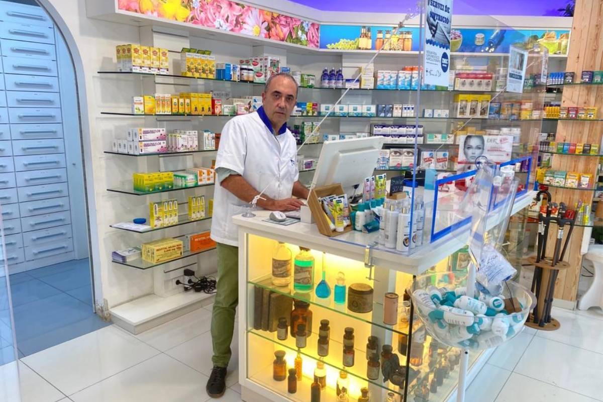 Benjamín Sánchez Soler, farmacéutico titular de la farmacia de Dalt e impulsor de la plataforma tecnológica 5Cs Farma.
