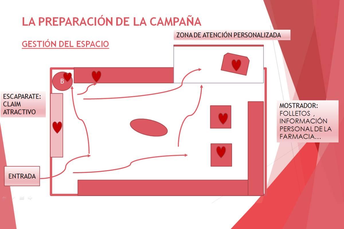 Preparación de una campaña sobre salud cardiovacular.