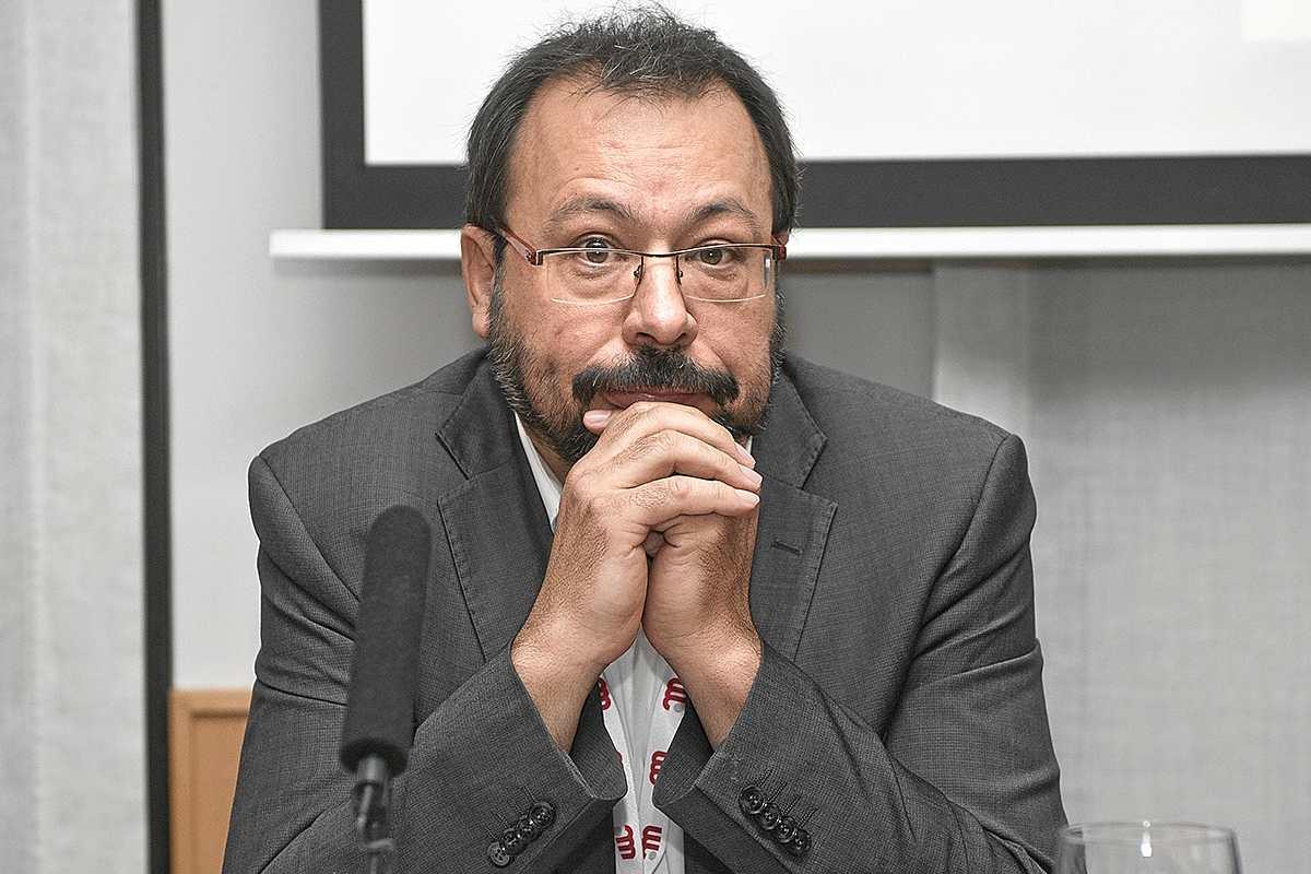 César Hernández,jefe del Departamento de Medicamentos de Uso Humano de la Aemps.