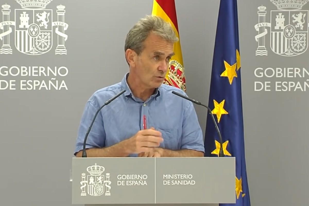Fernando Simón, director del Centro de Coordinación de Alertas y Emergencias Sanitarias (CCAES)