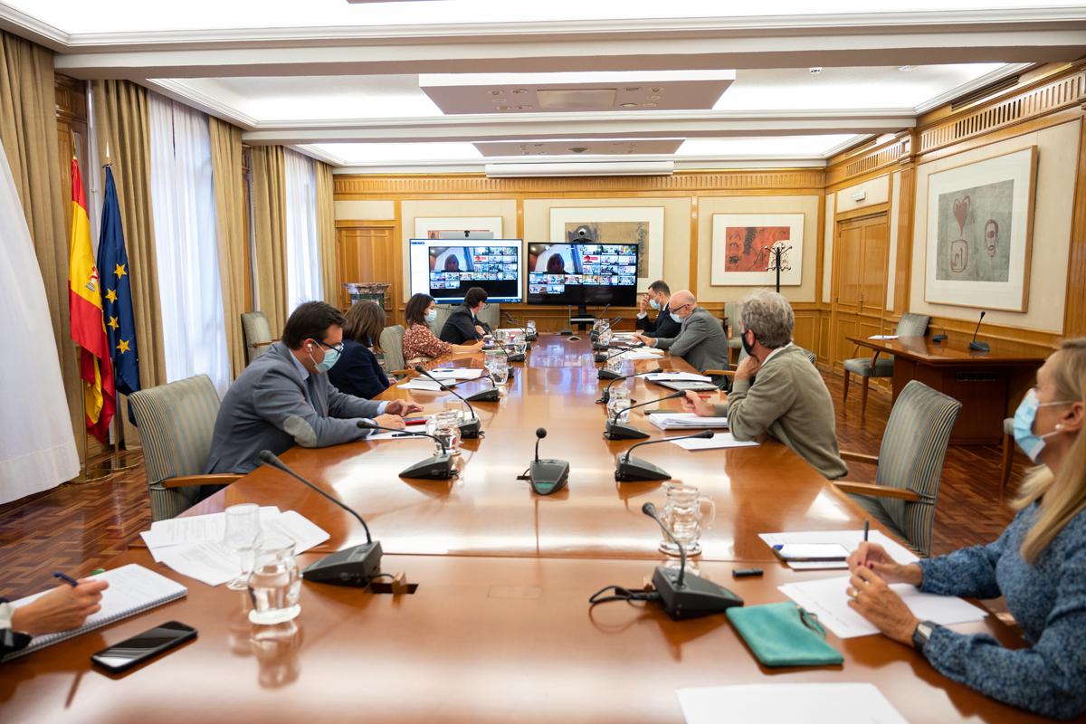 Reunión del Consejo Interterritorial del Sistema Nacional de Salud.