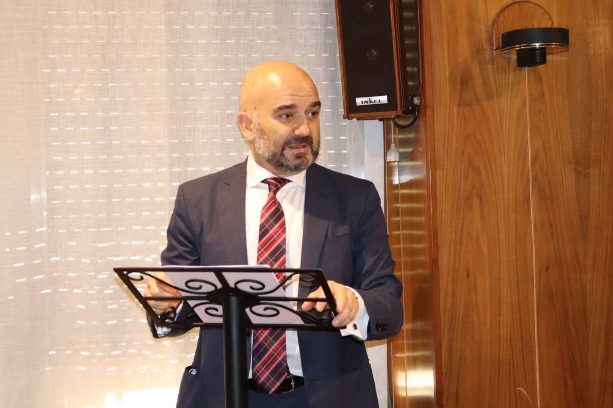Javier Herradón, presidente del COF de León y presidente electo del Consejo de de COF de Castilla y León.