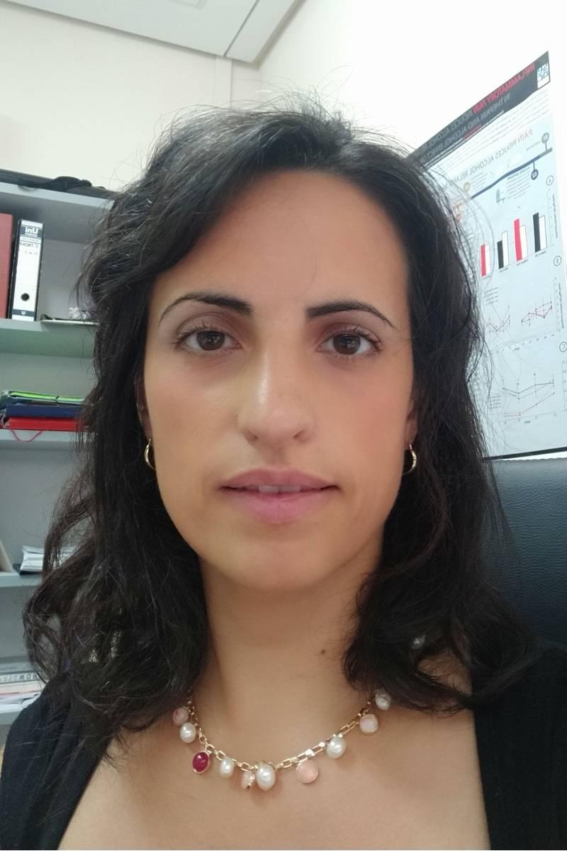 Lucía Hipólito, de la Facultad de Farmacia de la Universidad de Valencia.