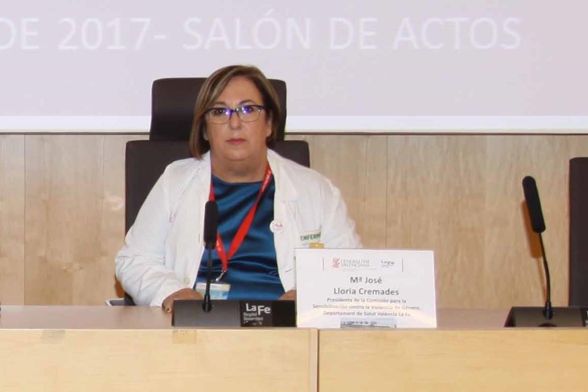 Mar�a José Lloria, comisionada de Atención Primaria y Comunitaria del Sistema Valenciano de Salud.