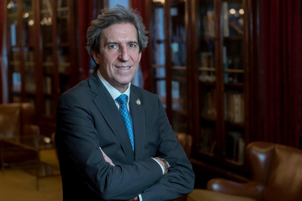 Miguel Ángel Sánchez Chillón opta a a reelección como presidente del Colegio de Médicos de Madrid