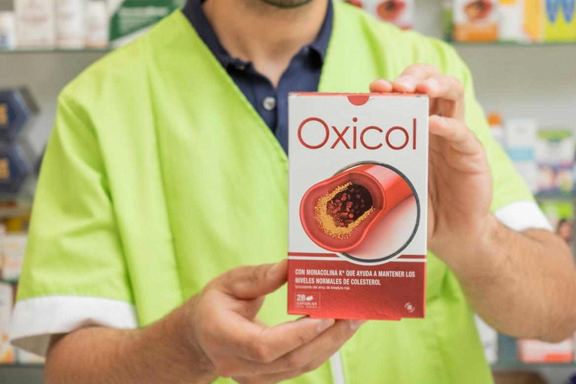 Oxicol con extractos de origen 100% naturales te ayuda a mantener unos niveles adecuados de colesterol