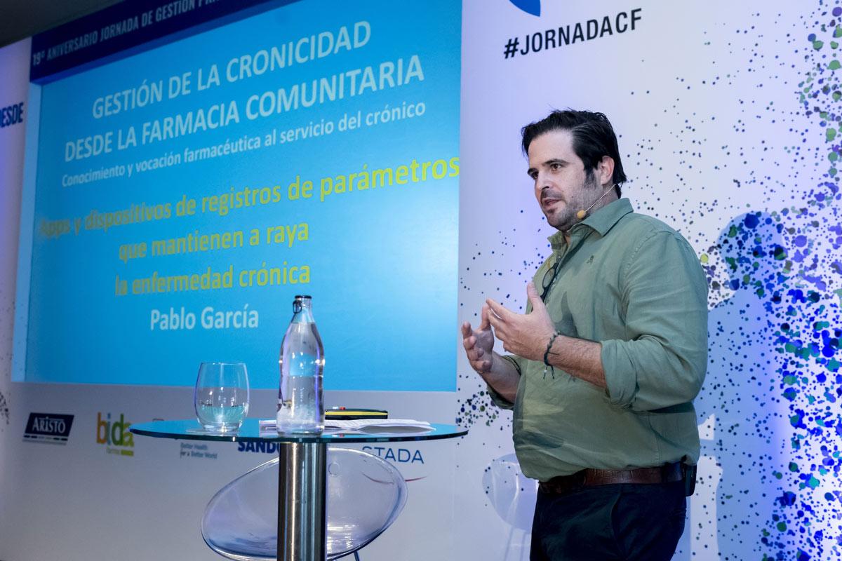 Pablo García, farmacéutico, divulgador sanitario y creador del blog 'Medicadoo'